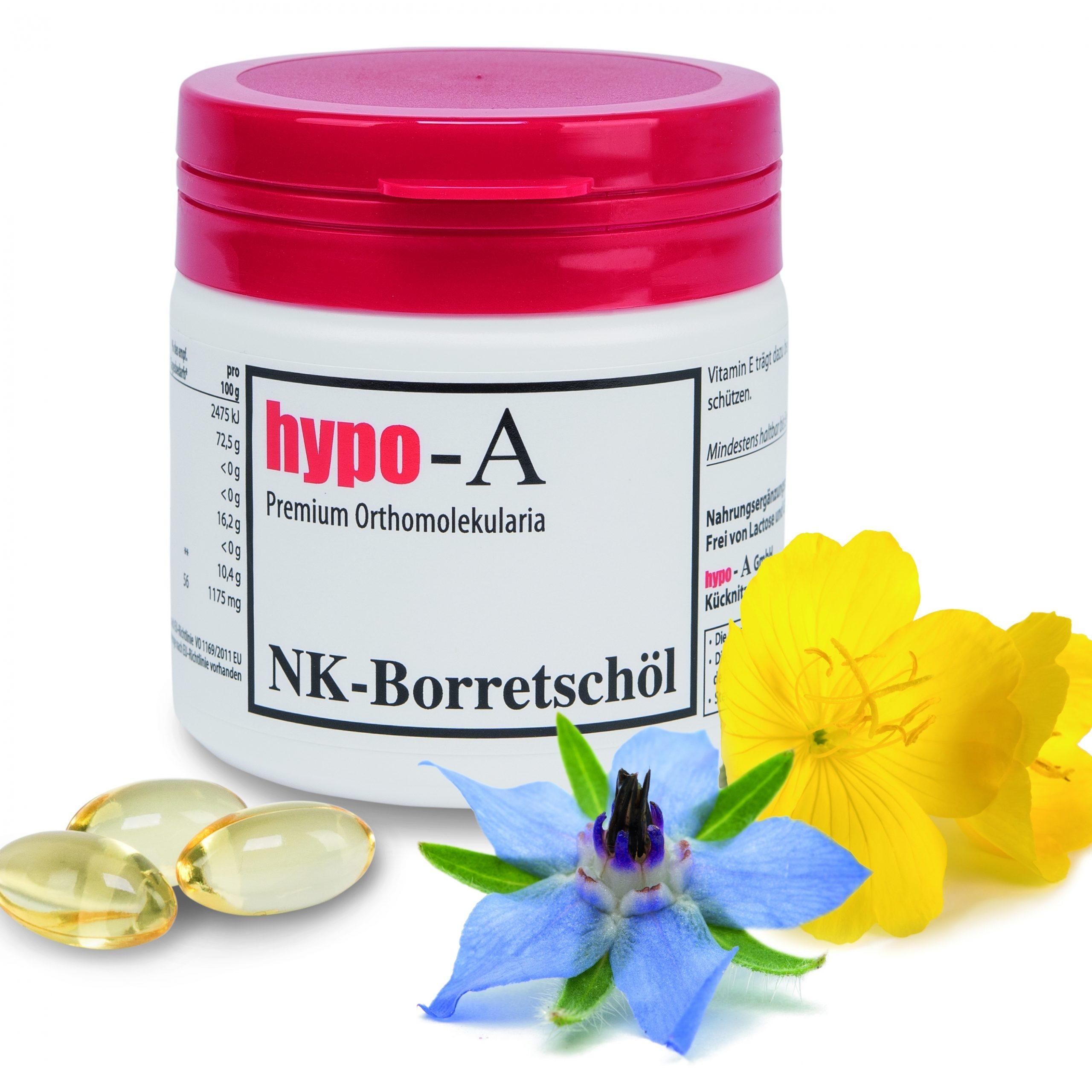 Wellness für gestresste Haut: NK-Borretschöl-Kapseln von hypo-A tragen zur Hautgesundheit bei