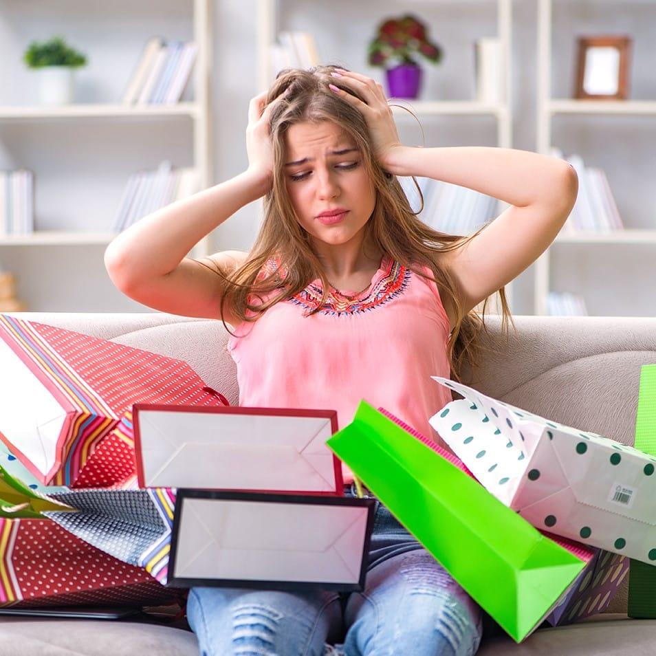 Wenn Shopping zum Zwang wird, handelt es sich in der Regel um eine Kaufsucht.