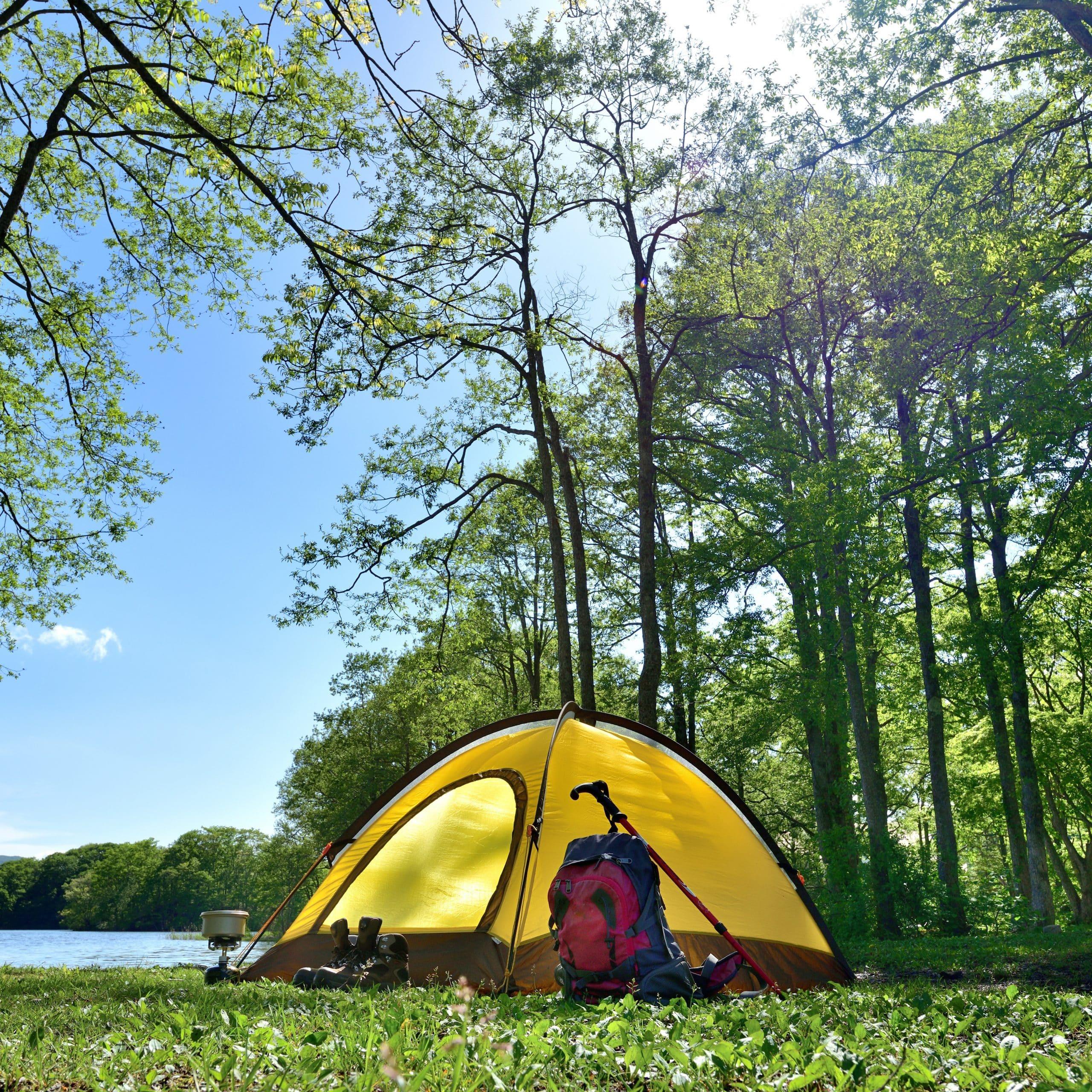 Sicher und idyllisch: Zelten hat dieses Jahr an Beliebtheit gewonnen