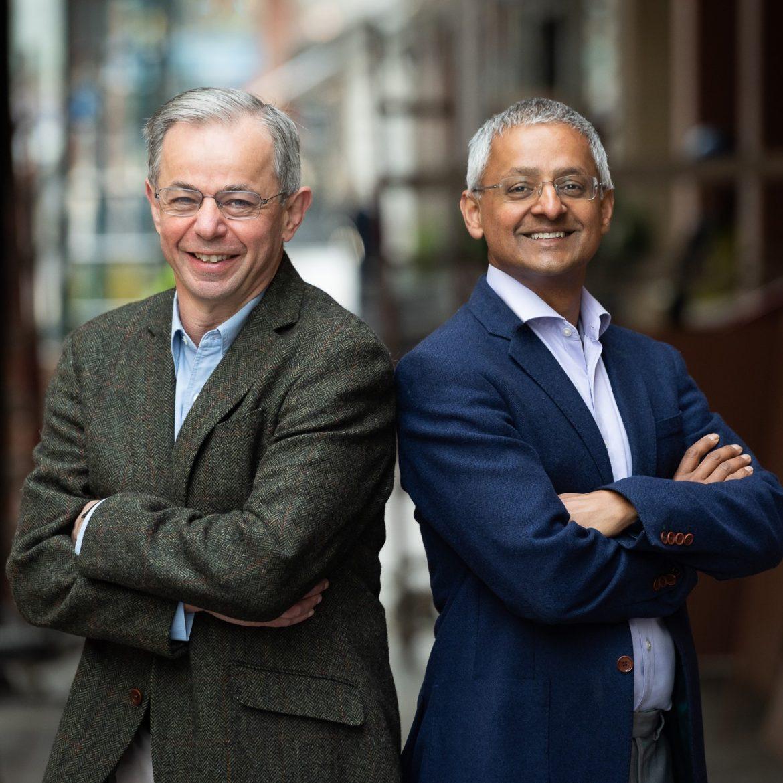 Das britische Professorenduo Shankar Balasubramanian und David Klenerman wurden für die Entwicklung revolutionärer DNA-Sequenzierungs-Verfahren mit dem Millennium Technology Prize ausgezeichnet.