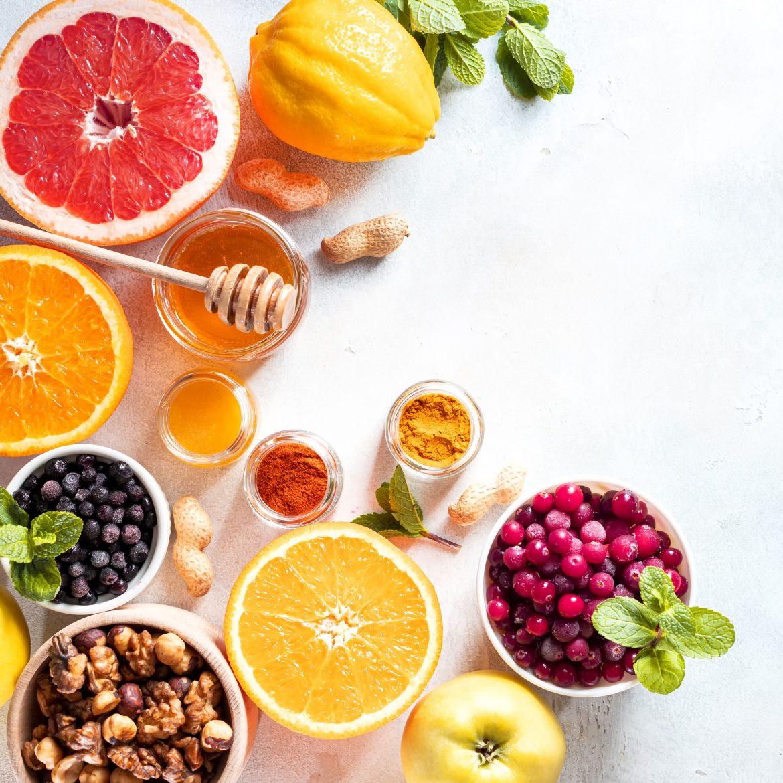 Eine ausgewogene und gesunde Ernährung kann einen Biofaktorenmangel verhindern