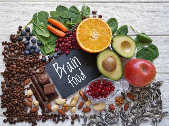 Pflanzliche Nahrungsmittel, die gutfürs Gehirn sein sollen.